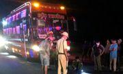 Hai thanh niên tử vong sau cú tông kinh hoàng với xe khách biển 00555