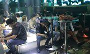 Kiểm tra đột xuất bar New Club, phát hiện 64 người dương tính với ma túy