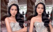 Hoa hậu Đỗ Thị Hà tung clip