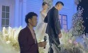 Nghệ sĩ Xuân Bắc bất ngờ làm MC trong đám cưới của Á hậu Tường San