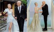 Cô dâu Việt cạo trọc đầu chụp ảnh cưới với chồng Mỹ, câu chuyện đằng sau khiến ai cũng xúc động