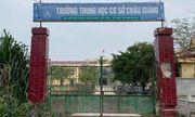Thông tin mới nhất vụ nam sinh lớp 9 đánh chết bạn học ở Hà Nam