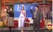 Video: Vừa đâng quang, tân Hoa hậu Đỗ Thị Hà đã bị soi vòng 2 kém thon gọn