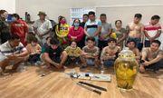 Triệt phá sòng bạc ở Đồng Nai, phát hiện hổ ngâm trong bình rượu: Bà trùm Hương