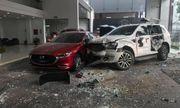Tin tức tai nạn giao thông ngày 11/12: Nữ tài xế lái ô tô lao vào showroom Mazda
