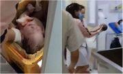 Sản phụ 18 tuổi đẻ rớt trong nhà vệ sinh rồi bỏ con trong thùng rác bệnh viện