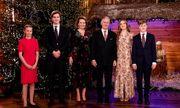 Ảnh Giáng sinh của các gia đình hoàng gia thế giới: Hoàng tử Bỉ
