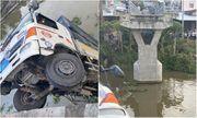 Tiền Giang: Chở 15 tấn lúa làm sập cầu Thiên Hộ, tài xế xe tải bị khởi tố