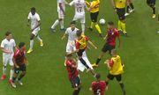 Chung kết U17 Brazil: Lao vào đánh nhau túi bụi, 9 cầu thủ nhận thẻ đỏ cùng lúc
