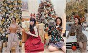 Hotgirl Việt đình đám khoe ảnh Giáng sinh đẹp lung linh, visual nào cũng