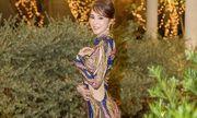 Quỳnh Nga táo bạo khoe đường cong với chiếc váy gây