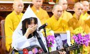 Con gái Vân Quang Long bật khóc khi hát tiễn biệt cha
