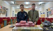 Hai nam sinh vận chuyển heroin, ma túy tổng hợp để lấy 300 triệu đồng
