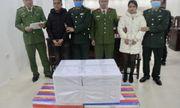 Nghệ An: Bắt giữ 2 đối tượng lợi dụng thời gian nghỉ lễ vận chuyển 35 bánh heroin