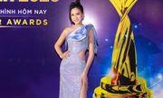 Hoa hậu Đỗ Thị Hà diện váy xẻ cao chới với, cut-out vị trí