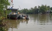 Vĩnh Long: Tìm thấy thi thể cảnh sát giao thông bị nước cuốn trên sông