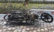 Vụ thanh niên tự đốt xe vì bị CSGT xử phạt: Nỗ lực dập lửa nhưng không được