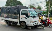 Tài xế ngủ gật gây tai nạn liên hoàn, 5 học sinh bị thương
