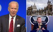 FBI kiểm tra lý lịch của 2,5 vạn vệ binh bảo vệ lễ nhậm chức của ông Biden