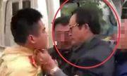 Tiết lộ bất ngờ về Chi cục trưởng Dân số say xỉn, túm cổ áo CSGT ở Tuyên Quang