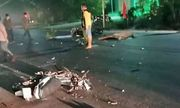 Bình Thuận: Kinh hoàng hiện trường hai xe máy đối đầu lúc rạng sáng, 3 người tử vong