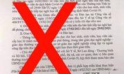 Giả danh Chủ tịch tỉnh về hưu ký văn bản cho học sinh nghỉ học vì COVID-19 ở Thái Nguyên