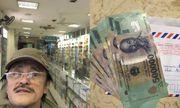 Nghệ sĩ Giang Còi đi mua thuốc đầu năm, được lì xì gấp 5 số tiền thuốc