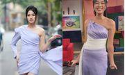 Đỗ Thị Hà chứng tỏ đẳng cấp thân hình ngày càng chuẩn, chinh phục thành công kiểu váy từng để lộ bụng mỡ