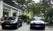 Vụ 2 xe sang Porsche cùng biển số