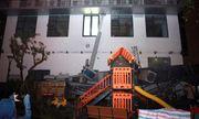 Hà Nội: Giàn điều hòa chung cư sập trong đêm, nhiều người dân hoảng loạn