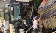 Bình Phước: Xe khách đấu đầu xe tải, 1 người tử vong thương tâm