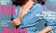Katie Holmes khoe ngực trần trong tạp chí Glamour