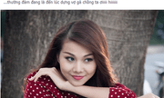 Facebook sao 24h: Thanh Hằng sẽ kết hôn trong năm con Ngựa?