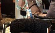Tăng Thanh Hà mang bầu to vẫn xinh đẹp, rạng rỡ