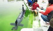 Chế tạo thành công tàu lặn điều khiển từ xa