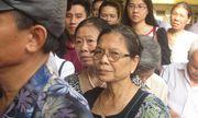 Vợ Nguyễn Mạnh Tường lặng lẽ tới dự phiên xử phúc thẩm chồng