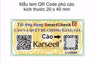 Sản phẩm - Dịch vụ - Thông báo V/v bổ sung tem chống hàng giả của công ty K&R Việt Nam
