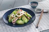 Ăn - Chơi - Món ngon mỗi ngày: Mướp xào mực lạ mà ngon cho bữa trưa
