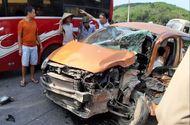 Tin trong nước - Tin tức tai nạn giao thông mới nóng nhất hôm nay 19/5/2019: Phá cửa giải cứu tài xế sau va chạm