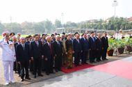 Tin trong nước - Lãnh đạo Đảng, Nhà nước viếng Chủ tịch Hồ Chí Minh