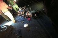 Tin trong nước - Tông vào xe máy kéo trong đêm, 2 thanh niên tử vong