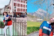 Bảo Thy bất lực nhìn vali bị cướp ở Milan
