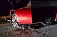 Tin trong nước - Yên Bái: Xe máy đâm cực mạnh vào ô tô khách, 2 thiếu niên tử vong