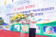 Truyền thông - Thương hiệu - Bắc Ninh phát động Tháng hành động vì môi trường, Ngày môi trường Thế giới