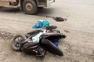 Hà Nội: Nam sinh bị xe bồn tông gãy chân trên đường đi thi về