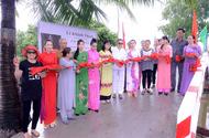 Xã hội - Hoa hậu Huỳnh Trâm cùng mẹ khánh thành cây cầu 26/3 tại tỉnh Kiên Giang