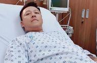 Tuấn Hưng bị hở van tim, đang phải tĩnh dưỡng ở bệnh viện
