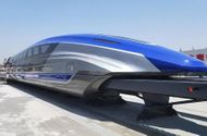 """Công nghệ - Tàu đệm từ của Trung Quốc có thể chạy với tốc độ """"không tưởng"""" 600 km/h"""