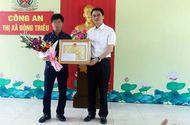 Việc tốt quanh ta - Khen thưởng tài xế điều khiển xe ôtô tông ngã tên cướp tiệm vàng có súng ở Quảng Ninh