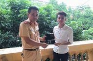 Việc tốt quanh ta - Người đàn ông xúc động khi được CSGT tỉnh Bắc Ninh tìm lại được chiếc ví đánh rơi